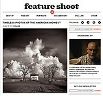 "An interview and 14 photographs by Michael Knapstein were published in the January 16, 2018 edition of ""Feature Shoot"" magazine.  <br />