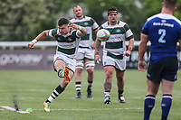 Match action during the British & Irish Cup Final match between Ealing Trailfinders and Leinster Rugby at Castle Bar, West Ealing, England  on 12 May 2018. Photo by David Horn / PRiME Media Images.