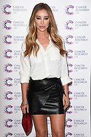Lauren Pope<br /> arriving at James Ingham&rsquo;s Jog On To Cancer, in aid of Cancer Research UK at The Roof Gardens in Kensington, London. <br /> <br /> <br /> &copy;Ash Knotek  D3248  12/04/2017