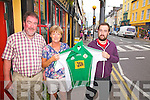Cahersiveen goes London - The Curran Family from Cahersiveen with a special connection to the London team who take on Mayo in McHale Park on Sunday in the Connaught Senior Final, pictured here l-r; Frank, Sadie & Keith Curran.