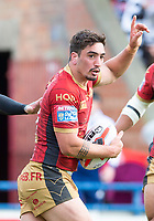 Picture by Allan McKenzie/SWpix.com - 22/04/2018 - Rugby League - Ladbrokes Challenge Cup - York City Knight v Catalans Dragons - Bootham Crescent, York, England - Tony Gigot.