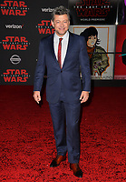 Andy Serkis at the world premiere for &quot;Star Wars: The Last Jedi&quot; at the Shrine Auditorium. Los Angeles, USA 09 December  2017<br /> Picture: Paul Smith/Featureflash/SilverHub 0208 004 5359 sales@silverhubmedia.com