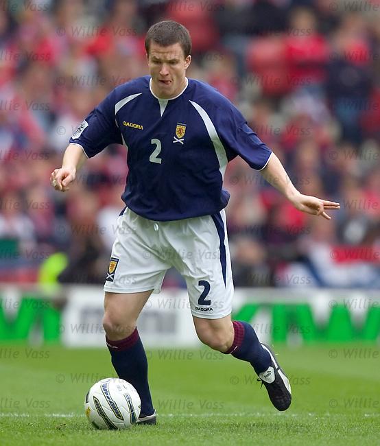 Gary Caldwell, Scotland.stock season 2004-2005.pic willie vass