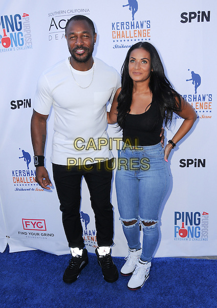 11 August 2016 - Los Angeles, California. Tank. Clayton Kershaw's 4th Annual Ping Pong 4 Purpose Celebrity Tournament held at Dodger Stadium. <br /> CAP/ADM/BT<br /> &copy;BT/ADM/Capital Pictures