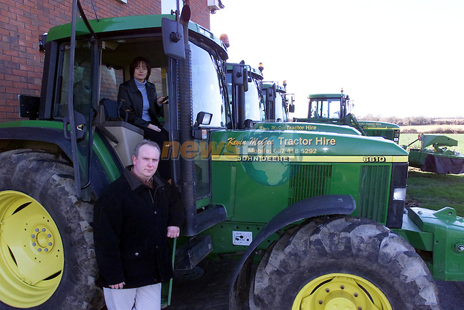 Kevin McGee Tractor Hire 2..Picture Fran Caffrey Newsfile.