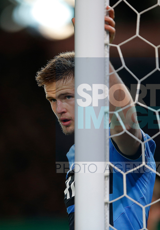 Eric Dier of Tottenham during the Barclays Premier League match at The Britannia Stadium. Photo credit should read: Simon Bellis/Sportimage