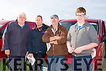 Enjoying the the Kilflynn Coursing on monday were hristy Lucey, Jimmy Lucey, James Kelleher and Darragh Foran