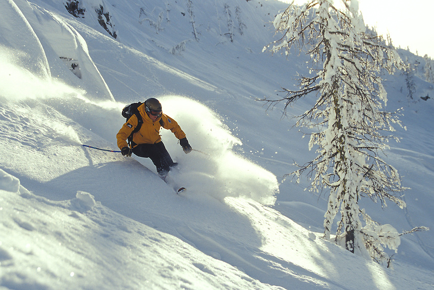 Andrew Voight in 'Trash Chutes' at Whitewater Resort, Nelson, BC
