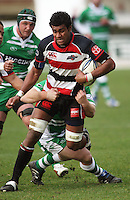 Counties flanker Sikeli Nabou during the Air NZ Cup rugby match between Manawatu Turbos and Counties-Manukau Steelers at FMG Stadium, Palmerston North, New Zealand on Sunday, 2 August 2009. Photo: Dave Lintott / lintottphoto.co.nz