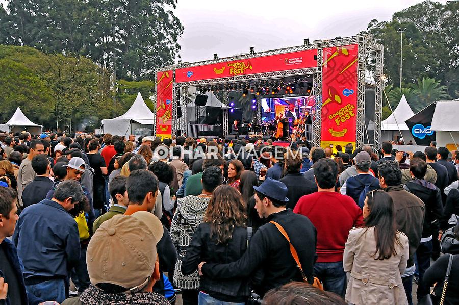 Festival de jazz no Parque do Ibirapuera. Sao Paulo. 2014. Foto de Marcia Minillo.