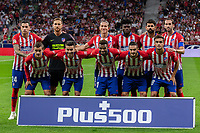 Atletico Madrid team group during the match between Atletico Madrid v SD Huesca of LaLiga, 2018-2019 season, date 6. Wanda Metropolitano Stadium. Madrid, Spain - 25 September 2018. Mandatory credit: Ana Marcos / PRESSINPHOTO