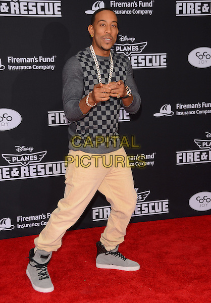 15 July 2014 - Hollywood, California - Ludacris. Arrivals for the premiere of Disney's &quot;Planes: Fire and Rescue&quot; held at the El Capitan Theater in Hollywood, Ca. <br /> CAP/ADM/BT<br /> &copy;BT/ADM/Capital Pictures