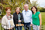 Anne Cummins, Ballybunion, 2017 recipient of The Mary Cummins Award for Women of Outstanding Achievement in the Media, Group Business Editor of Independent News & Media, Dearbhail Mc Donald, Jerry Kennelly and Joan O'Connor at the Women in Media conference in Kilcooley's, Ballybunion on Sunday.
