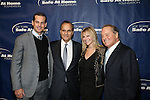 Aaron Boone, Joe Torre, Judy Gilbert and Rod Gilbert at the 11TH ANNIVERSARY OF THE JOE TORRE SAFE AT HOME FOUNDATION HELD A CHELSEA PIERS SIXTY, NY