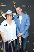 LOS ANGELES - AUG 28:  Patrika Darbo, Bob Bergen at the 2019 Daytime Programming Peer Group Reception at the Saban Media Center at TV Academy on August 28, 2019 in North Hollywood, CA
