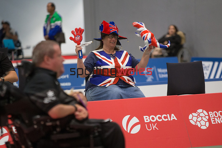 BISFed 2018 World Boccia Championships <br /> Exhibition Centre Liverpool<br /> 12.08.18<br /> &copy;Steve Pope<br /> Sportingwales