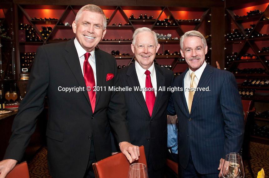Dave Ward Celebrates 45-year Anniversary as newsman with KTRK-13 at Tony's
