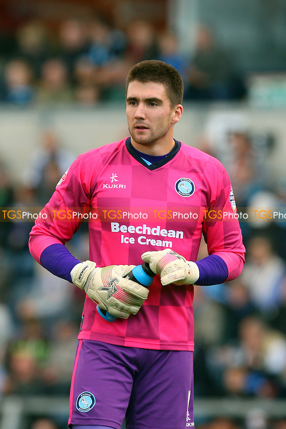 Matt Ingram of Wycombe Wanderers - Wycombe Wanderers vs Dagenham and Redbridge - Sky Bet League Two action at the Adam Park Stadium on 25/10/2014 - MANDATORY CREDIT: Dave Simpson/TGSPHOTO - Self billing applies where appropriate - 0845 094 6026 - contact@tgsphoto.co.uk - NO UNPAID USE