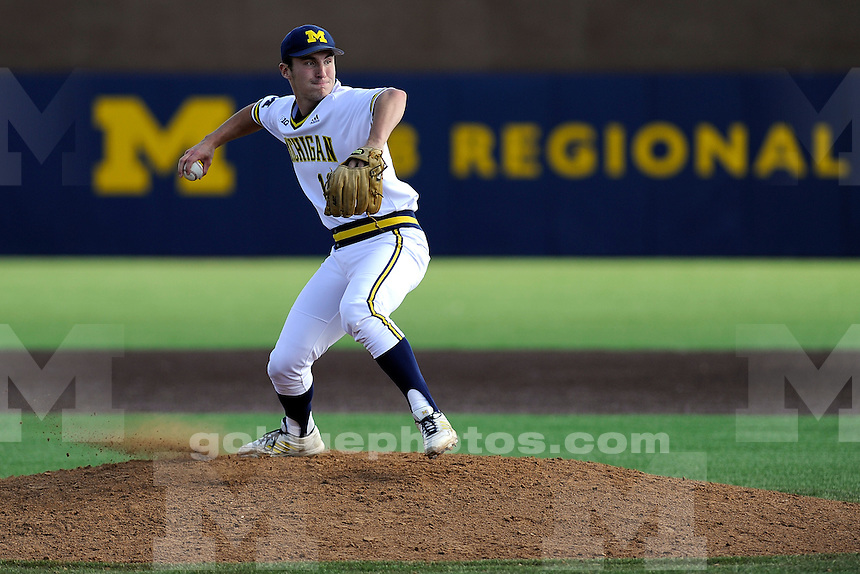Iowa beats Michigan 13-7 in baseball, Friday, May 1, 2015, at UM's Ray Fisher Stadium in the Wilpon Baseball/Softball Complex.