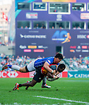 Papua New Guinea vs South Korea during their HSBC Sevens Wold Series Qualifier match as part of the Cathay Pacific / HSBC Hong Kong Sevens at the Hong Kong Stadium on 27 March 2015 in Hong Kong, China. Photo by Juan Manuel Serrano / Power Sport Images