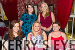 Friends celebrating Womens Christmas at Cassidys on Friday were  Front l-r Katelyn Roche, Sharon O'Brien, Grace Healy.  Back l-r Joanne O'Brien, Emily Clarke
