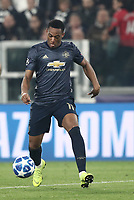 Football Soccer: UEFA Champions League -Group Stage-  Group H - Juventus vs Manchester United, Allianz Stadium. Turin, Italy, November 07, 2018.<br /> Manchester United's Anthony Martial in action during the Uefa Champions League football soccer match between Juventus and Manchester United at Allianz Stadium in Turin, November 07, 2018.<br /> UPDATE IMAGES PRESS/