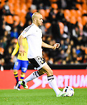 Valencia CF's   Aymen Abdennour during spanish King's Cup match. January 21, 2016. (ALTERPHOTOS/Javier Comos)