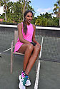 BOCA RATON, FL - NOVEMBER 22: Lisa Leslie poses for portrait during the 30TH ANNUAL Chris Evert Pro-Celebrity Tennis Classic presented by Chase Private Client at Boca Raton Resort & Club on November 22, 2019 in Boca Raton, Florida.   ( Photo by Johnny Louis / jlnphotography.com )