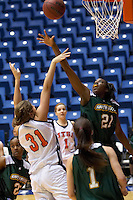 SAN ANTONIO, TX - JANUARY 5, 2006: The Southeastern Louisiana University Lions vs. The University of Texas at San Antonio Roadrunners Women's Basketball at the UTSA Convocation Center. (Photo by Jeff Huehn)