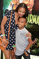 """LOS ANGELES - AUG 5:  Samantha Mumba arrives at the """"ParaNorman"""" Premiere at Universal CityWalk on August 5, 2012 in Universal City, CA ©mpi27/MediaPunch Inc"""