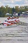 Rowing, Canada, Canadian Men's Eight, 8+, From bow: Anthony Jacob, Will Crothers, Robert Gibson, Conlin McCabe, Andrew Byrnes, Douglas Csima, Dave Calder, Derek O'Farrell, Mark Laidlaw, cox,  heat, race, Tuesday 2 November, 2010 FISA World Rowing Championships,