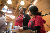 Occidental College students, staff and alumni volunteer all over the Los Angeles area as part of MLK Day of Service, organized by the Office of Community Engagement (OCE), on Saturday, Jan. 28, 2017.<br />