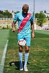 Tiago Manuel Dias 'Bebe' during his Official presentation as new player of Rayo Vallecano at Ciudad Deportiva Rayo Vallecano in Madrid, Spain. September 11, 2018. (ALTERPHOTOS/A. Perez Meca)