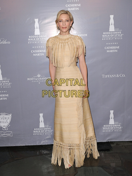 Cate Blanchett attends The Rodeo Drive Walk of Style honoring Oscar-winner Catherine Martin held at The Greystone Mansion in Beverly Hills, California on February 28,2014                                                                                <br /> CAP/DVS<br /> &copy;Debbie VanStory/Capital Pictures