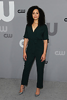 NEW YORK, NY - MAY 17: Madeleine Mantock at the 2018 CW Network Upfront at The London Hotel on May 17, 2018 in New York City. Credit: John Palmer/MediaPunch