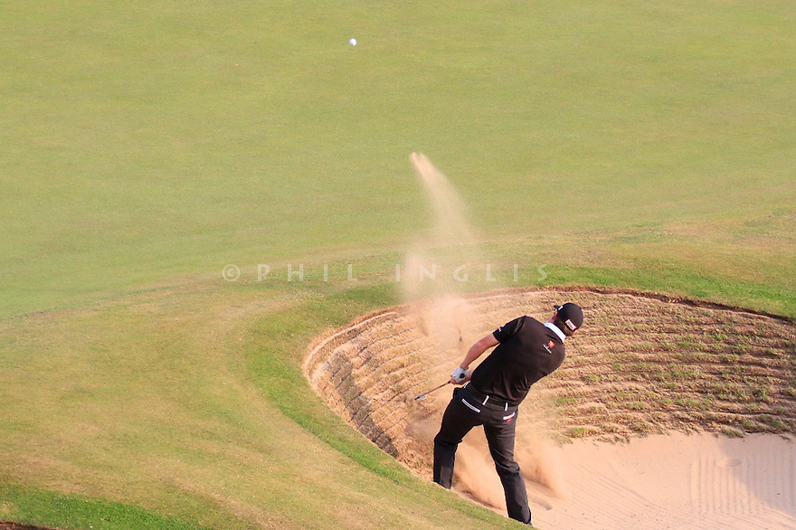 Jimmy WALKER (USA) in action during the second round of the 143rd Open Championship played at Royal Liverpool Golf Club, Hoylake, Wirral, England. 17 - 20 July 2014 (Picture Credit / Phil Inglis)