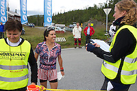 race number 266 - Gayle Galletta - Norseman 2012 - Photo by Justin Mckie Justinmckie@hotmail.com
