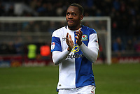 Blackburn Rovers' Ryan Nyambe at the end of todays match<br /> <br /> Photographer Rachel Holborn/CameraSport<br /> <br /> The EFL Sky Bet League One - Blackburn Rovers v Shrewsbury Town - Saturday 13th January 2018 - Ewood Park - Blackburn<br /> <br /> World Copyright &copy; 2018 CameraSport. All rights reserved. 43 Linden Ave. Countesthorpe. Leicester. England. LE8 5PG - Tel: +44 (0) 116 277 4147 - admin@camerasport.com - www.camerasport.com