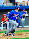 10 March 2012: New York Mets infielder Ike Davis in action during a Spring Training game against the Washington Nationals at Space Coast Stadium in Viera, Florida. The Nationals defeated the Mets 8-2 in Grapefruit League play. Mandatory Credit: Ed Wolfstein Photo