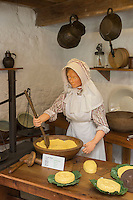 Royaume-Uni, îles Anglo-Normandes, île de Guernesey, Castel : Saumarez Park - Guernsey folk Museum: musée du folklore, la laiterie // United Kingdom, Channel Islands, Guernsey island, Castel : Saumarez Park , Guernsey folk Museum, the dairy