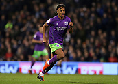 31st October 2017, Craven Cottage, London, England; EFL Championship football, Fulham versus Bristol City; Bobby Reid of Bristol City in action