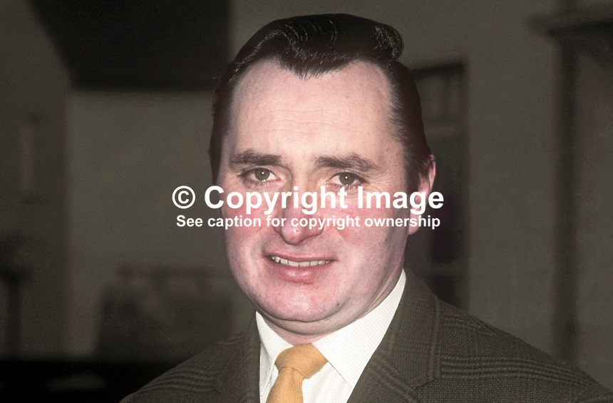 Adrian Whitby, NILP candidate, South Antrim, N Ireland, in UK by-election. 5th March 1970, 197003050096 <br /> <br /> Copyright Image from Victor Patterson, 54 Dorchester Park, Belfast, UK, BT9 6RJ<br /> <br /> t1: +44 28 9066 1296 (from Rep of Ireland 048 9066 1296)<br /> t2: +44 28 9002 2446 (from Rep of Ireland 048 9002 2446)<br /> m: +44 7802 353836<br /> <br /> e1: victorpatterson@me.com<br /> e2: victorpatterson@gmail.com<br /> <br /> The use of my copyright images is subject to my Terms &amp; Conditions.<br /> <br /> It is IMPORTANT that you familiarise yourself with them. They are available on my website at www.victorpatterson.com.<br /> <br /> None of my copyright images may be used on a website unless they are visibly watermarked, i.e. &copy; Victor Patterson within the body of the visible image. Metadata denoting my copyright must NOT be deleted. <br /> <br /> Web use (maximum size - 300 kb) is extra at currently recommended NUJ rates.