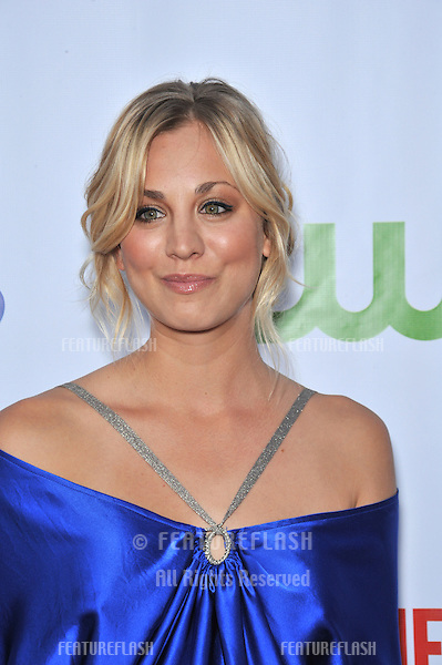 "Kaley Cuoco - star of ""The Big Bang Theory"" - at the CBS All-Star Sumer TCA Party in Hollywood..July 18, 2008  Los Angeles, CA.Picture: Paul Smith / Featureflash"