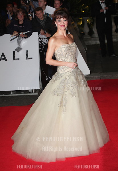 Helen McCrory  arriving for the Royal World Premiere of 'Skyfall' at Royal Albert Hall, London. 23/10/2012 Picture by: Alexandra Glen / Featureflash
