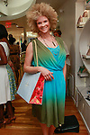 Michaela Angela Davis, writer and beauty and fashion editor for Essence and Vibe Magazines, respectively, shopping during the African Health Now - Fashion Fete event, at the Tracy Reese store on 641 Hudson Street, June 20, 2013.
