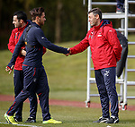 Pedro Caixinha and Harry Forrester