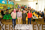 North Kerry Wind Turbine Meeting:  Chairman Gerard Doyle, Aidan Linnane, Tony O'Carroll & Catherine Kelly pictured prior to the start of the anti turbine meeting held in Dromclough  NS on Thursday night last.