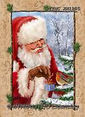 Marcello, CHRISTMAS SANTA, SNOWMAN, WEIHNACHTSMÄNNER, SCHNEEMÄNNER, PAPÁ NOEL, MUÑECOS DE NIEVE, paintings+++++,ITMCXM1205,#X#