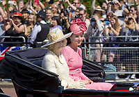 17 June 2017 - London, England - Duchess Kate, Princess Kate, Duchess of Cambridge and Camilla, Duchess of Cornwall. The ceremony of the Trooping the Colour, marking the monarch's official birthday, in London. Photo Credit: PPE/face to face/AdMedia