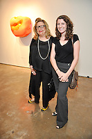 Artist Clemencia Labin opens her exhibit at the New World Museum Houston